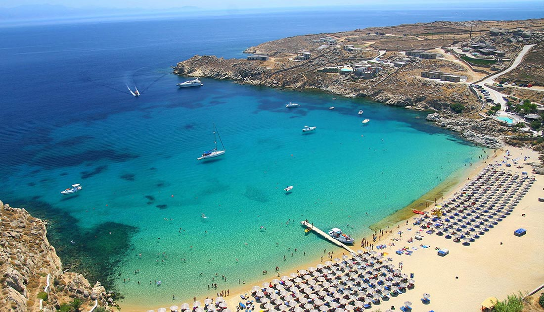 Athens – Mykonos 2 days & 1 night